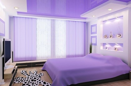 Потолок в спальню