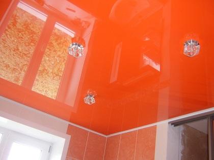 Потолок в ванную