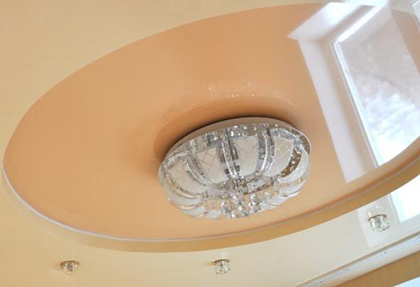 Что такое двухуровневый потолок