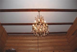 варианты отделки потолка в деревянном доме