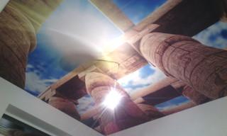 архитектурная печать на потолке