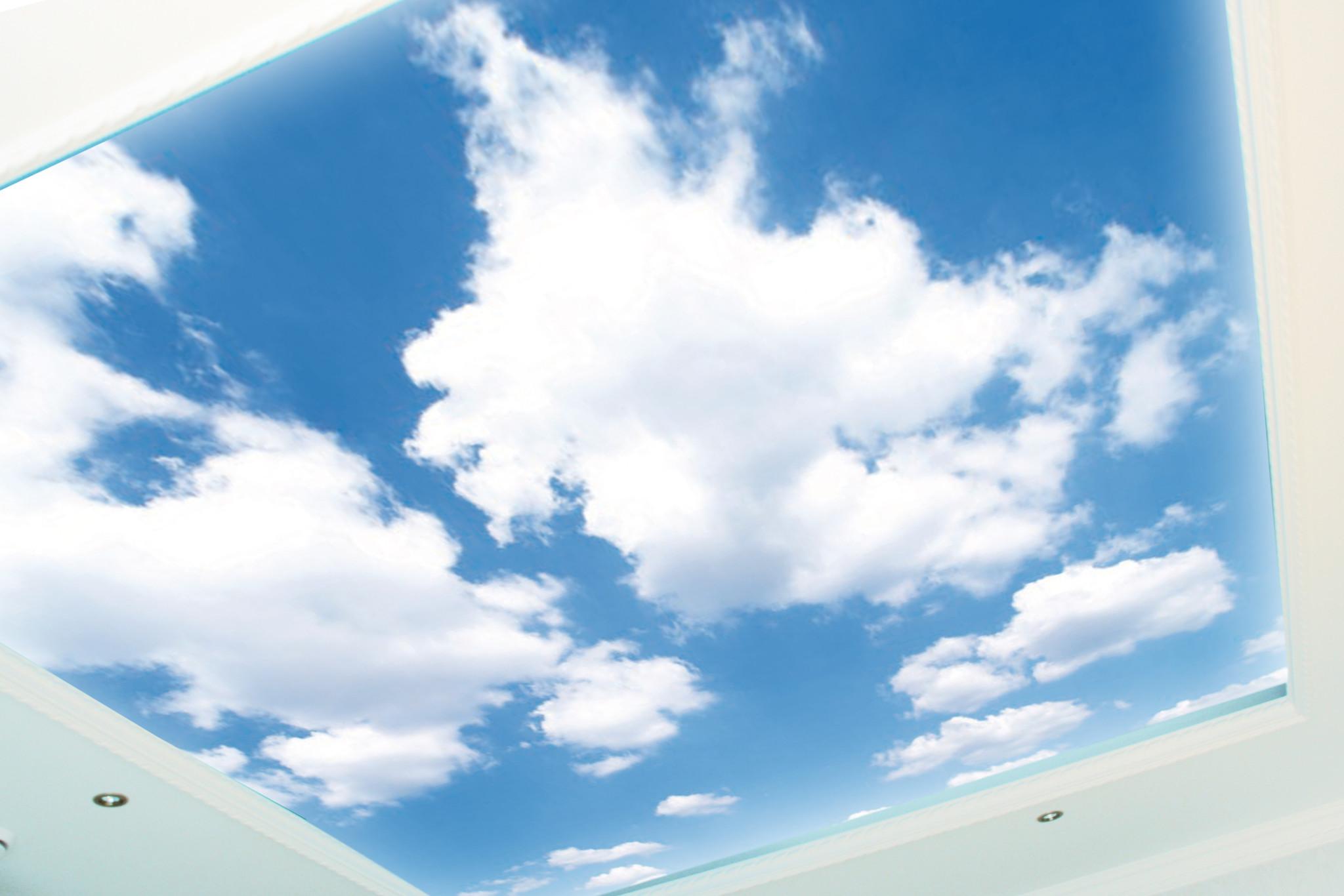 """Натяжные потолки """"облака"""""""