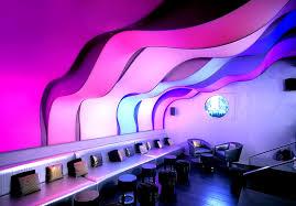 3Д потолок в кафе