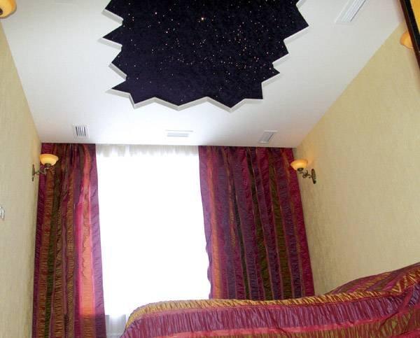 замшевые натяжные потолки