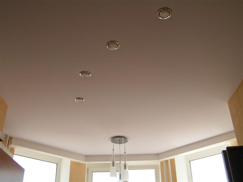 тканевый натяжной потолок Clipso с подсветкой