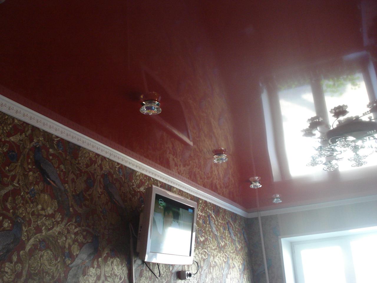 Глянцевые натяжные потолки в Домодедово
