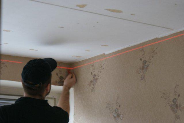Монтаж натяжного потолка в Домодедово
